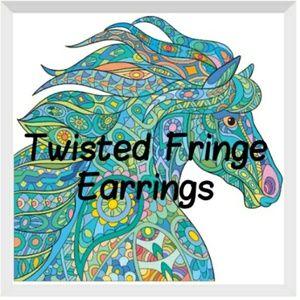 Twisted Fringe Earrings